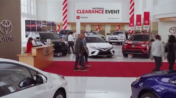 Toyota National Clearance Event TV Spot, 'Remaining 2018s' [T2] - Thumbnail 2
