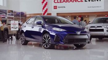 Toyota National Clearance Event TV Spot, 'Remaining 2018s' [T2] - Thumbnail 4