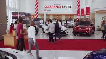 Toyota National Clearance Event TV Spot, 'Remaining 2018s' [T2] - Thumbnail 8