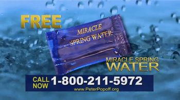 Peter Popoff Ministries TV Spot, 'Miracle Spring Water: Money' - Thumbnail 9