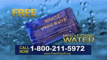 Peter Popoff Ministries TV Spot, 'Miracle Spring Water: Money' - Thumbnail 2