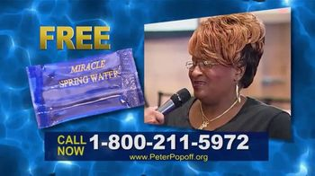 Peter Popoff Ministries TV Spot, 'Miracle Spring Water: Money' - Thumbnail 3