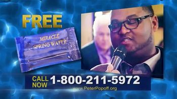 Peter Popoff Ministries TV Spot, 'Miracle Spring Water: Money' - Thumbnail 4