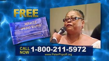 Peter Popoff Ministries TV Spot, 'Miracle Spring Water: Money' - Thumbnail 5