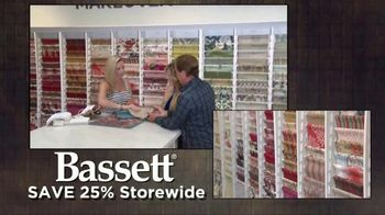 Bassett TV Spot, 'Save 25% Storewide' Song by Taylor Rae - Thumbnail 7