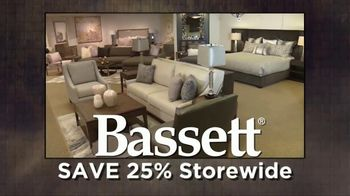 Bassett TV Spot, 'Save 25% Storewide' Song by Taylor Rae