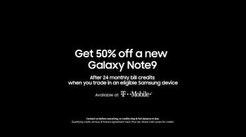 Samsung Galaxy Note9 TV Spot, 'Powerful S Pen: 50 Percent Off' Song by LSD - Thumbnail 9