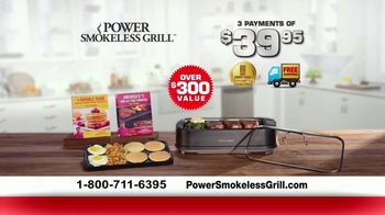 Power Smokeless Grill TV Spot, 'Smoke Extracting Technology' Featuring Eric Theiss - Thumbnail 10