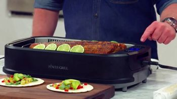 Power Smokeless Grill TV Spot, 'Smoke Extracting Technology' Featuring Eric Theiss - Thumbnail 2