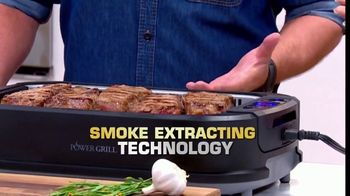 Power Smokeless Grill TV Spot, 'Smoke Extracting Technology' Featuring Eric Theiss - Thumbnail 6