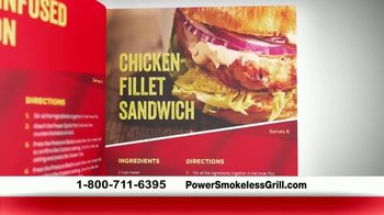 Power Smokeless Grill TV Spot, 'Smoke Extracting Technology' Featuring Eric Theiss - Thumbnail 8