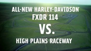 2019 Harley-Davidson FXDR 114 TV Spot, 'High Plains Raceway' - Thumbnail 2