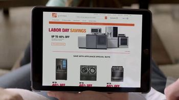 The Home Depot Labor Day Savings TV Spot, 'More: LG Kitchen Suite' - Thumbnail 2