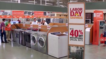 The Home Depot Labor Day Savings TV Spot, 'More: LG Kitchen Suite' - Thumbnail 5