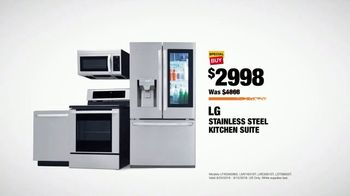 The Home Depot Labor Day Savings TV Spot, 'More: LG Kitchen Suite' - Thumbnail 9