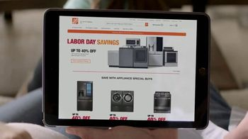 The Home Depot Labor Day Savings TV Spot, 'More: Laundry Pair' - Thumbnail 2