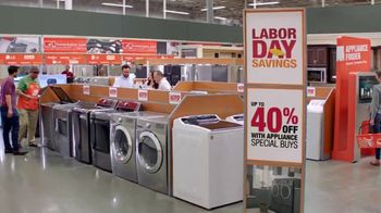 The Home Depot Labor Day Savings TV Spot, 'More: Laundry Pair' - Thumbnail 5
