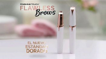 Finishing Touch Flawless Brows TV Spot, 'Remueve los vellos' [Spanish]