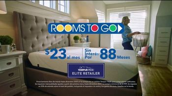 Rooms to Go TV Spot, 'Una gran noche de sueño' [Spanish] - Thumbnail 9