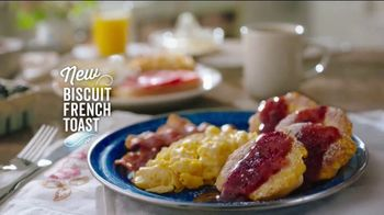 Cracker Barrel Daily Delights Menu TV Spot, 'Biscuit French Toast'
