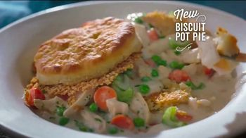 Cracker Barrel Daily Delights Menu TV Spot, 'Biscuit French Toast' - Thumbnail 5