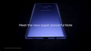 Samsung Galaxy Note9 TV Spot, 'Powerful S Pen: Buy One, Get One Free' - Thumbnail 1