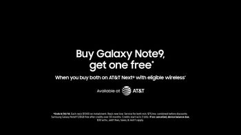 Samsung Galaxy Note9 TV Spot, 'Powerful S Pen: Buy One, Get One Free' - Thumbnail 10