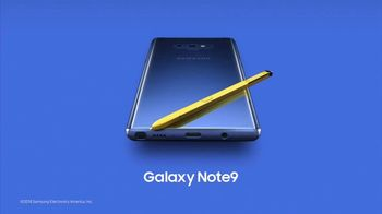Samsung Galaxy Note9 TV Spot, 'Powerful S Pen: Buy One, Get One Free' - Thumbnail 9