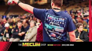 The Mecum Shop TV Spot, '2018 Official Merchandise' - Thumbnail 6