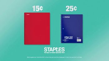 Staples TV Spot, 'School Supply Serenity: Essentials in Stock' - Thumbnail 10