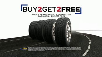 National Tire & Battery Labor Day Super Sale TV Spot, 'Buy Two, Get Two'