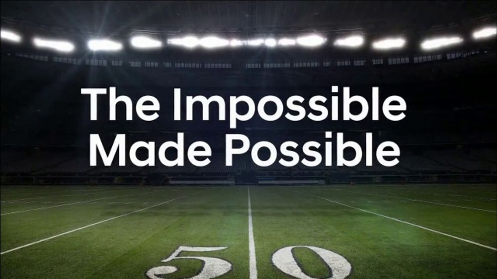 Hyundai TV Commercial, 'NFL: The Impossible Made Possible' [T1]
