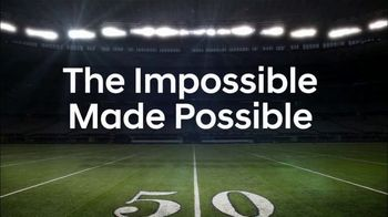Hyundai TV Spot, 'NFL: The Impossible Made Possible' [T1] - 7 commercial airings