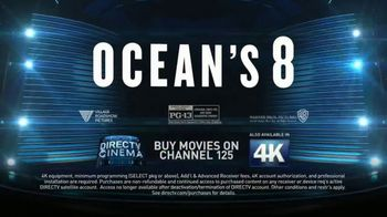 DIRECTV Cinema TV Spot, 'Ocean's 8' - Thumbnail 8