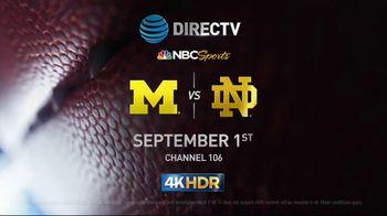 DIRECTV 4K TV Spot, 'Home for College Football' - 59 commercial airings