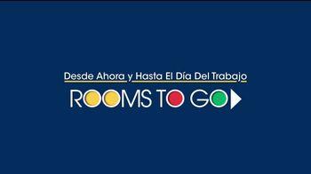 Rooms to Go TV Spot, 'Día del trabajo: sofá chaise' [Spanish] - Thumbnail 1