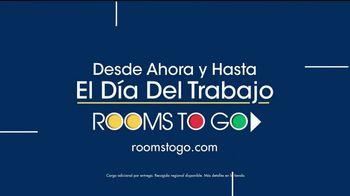 Rooms to Go TV Spot, 'Día del trabajo: sofá chaise' [Spanish] - Thumbnail 8