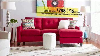 Rooms to Go TV Spot, 'Día del trabajo: sofá chaise' [Spanish] - Thumbnail 2