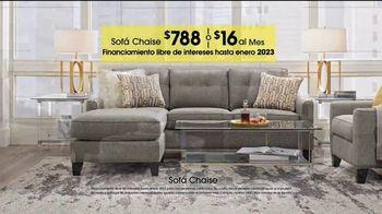 Rooms to Go TV Spot, 'Día del trabajo: sofá chaise' [Spanish] - Thumbnail 3
