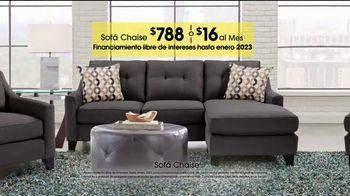 Rooms to Go TV Spot, 'Día del trabajo: sofá chaise' [Spanish] - Thumbnail 4