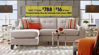 Rooms to Go TV Spot, 'Día del trabajo: sofá chaise' [Spanish] - Thumbnail 5