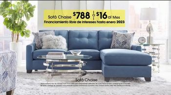 Rooms to Go TV Spot, 'Día del trabajo: sofá chaise' [Spanish] - Thumbnail 7