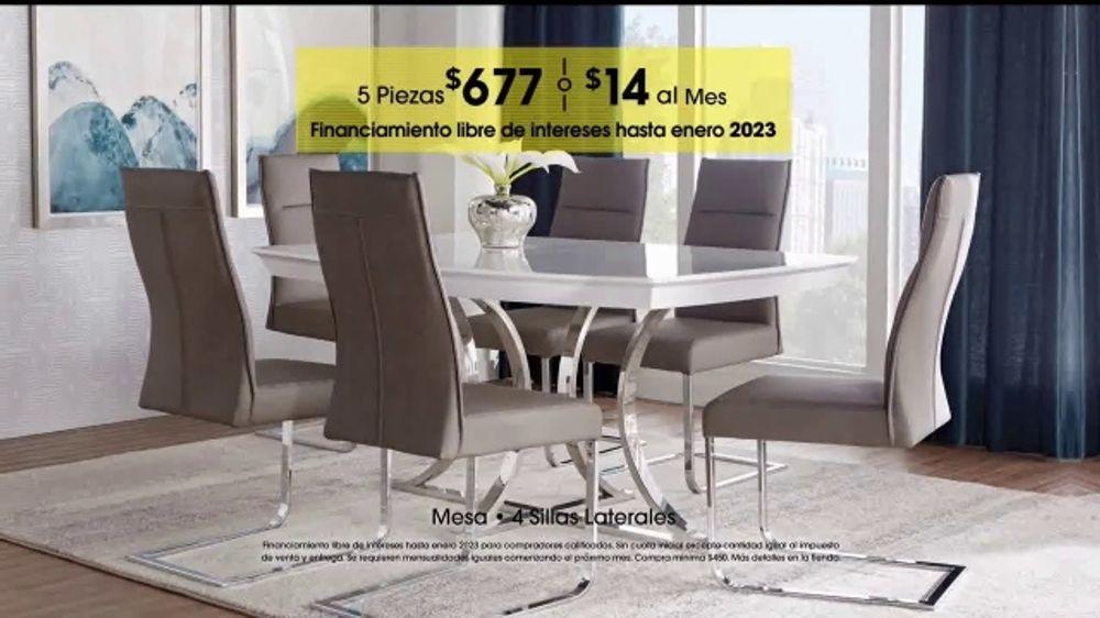 Rooms to Go TV Commercial, \'Día del trabajo: comedores\' - iSpot.tv