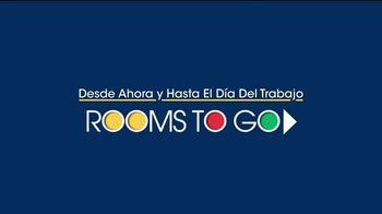 Rooms to Go TV Spot, 'Día del trabajo: comedores' [Spanish] - Thumbnail 1