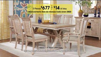 Rooms to Go TV Spot, 'Día del trabajo: comedores' [Spanish] - Thumbnail 5