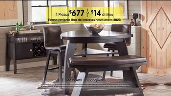 Rooms to Go TV Spot, 'Día del trabajo: comedores' [Spanish] - Thumbnail 8