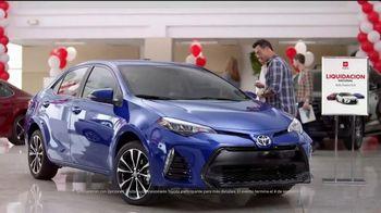 Toyota Liquidación Nacional TV Spot, 'Las increíbles ofertas' [Spanish] [T2] - Thumbnail 1