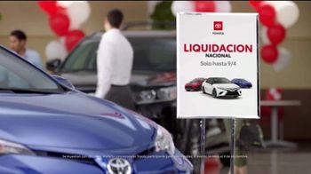 Toyota Liquidación Nacional TV Spot, 'Las increíbles ofertas' [Spanish] [T2] - Thumbnail 3