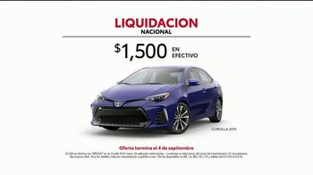Toyota Liquidación Nacional TV Spot, 'Las increíbles ofertas' [Spanish] [T2] - Thumbnail 5