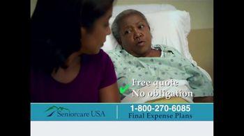 SeniorcareUSA TV Spot, 'Final Expense Insurance' - Thumbnail 7